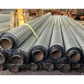 Труба сталева в оболонці СПІРО 57/125 мм