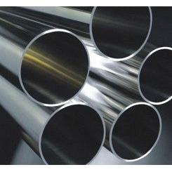 Труба нержавеющая 6х1,0 мм AISI 201 мат/полир