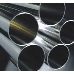 Труба нержавеющая 88,9х1,5 мм AISI 201 мат/полир