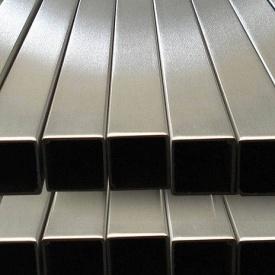 Труба нержавіюча прямоуголная 25х15х1,5 мм AISI 201 мат/полір