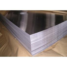 Лист нержавіючий AISI 430 0,4х1000х2000 мм ВА дзеркало