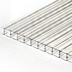 Сотовий полікарбонат POLYGAL 20 мм прозорий