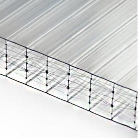 Сотовий полікарбонат POLYGAL 25 мм прозорий