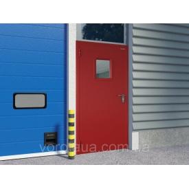 Дверь противопожарная DoorHan EI60 одностворчатая глухая 980х2050 мм гладкая