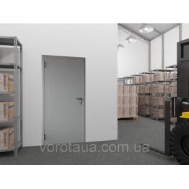 Двері технічні DoorHan одностулкові глухі 980х2050 мм