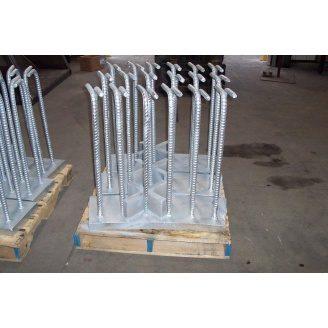 Металлическая пластина 8мм 40х20см