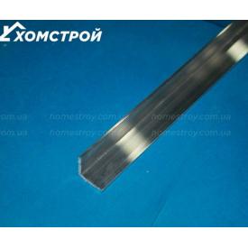 Куточок алюмінієвий 20х20х1 анод