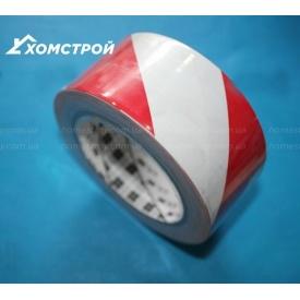 Стрічка для сигнального маркування 3М 767i червоно-біла