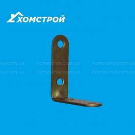 Кронштейн мебельный №5 52х52х20 мм