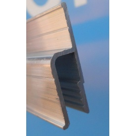 Пристенный h-образный 160 стандарт профиль для натяжных потолков