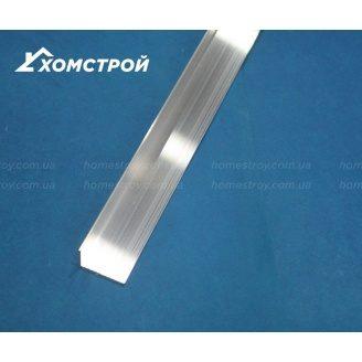 Куточок алюмінієвий 10х20х1,2 анодований