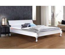 Деревянная кровать Николь Уют 1600х2000 мм белая двухместная