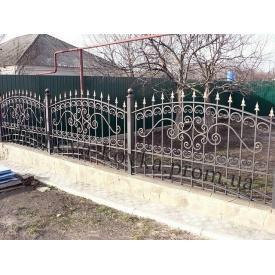 Кований забор під замовлення Б-0103