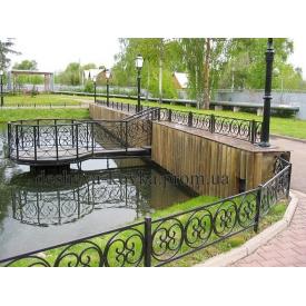 Кований газон парканчік по індівідуальнім розмірам