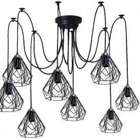 Люстра павук на сім плафонів NL 538-7 MSK Electric