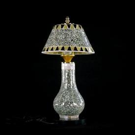 Настольная лампа 009/2T SILVER