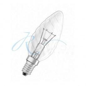 Лампочка шишка прозрачная Е-14