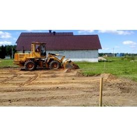 Проведение подготовительных работ при строительстве дорог