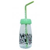 Пляшка для молока Sarina з трубочкою 250 мл (S-771-3)