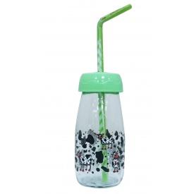 Бутылка для молока Sarina с трубочкой 250 мл (S-771-3)