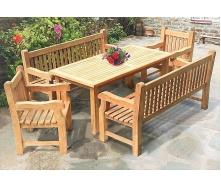 Комплект мебели 1800 х 900 мм от производителя Garden park bench 27