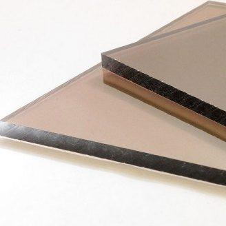 Полікарбонат бронзовий монолітний POLICAM 3 мм