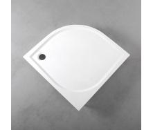 Душевой поддон Fancy Marble полукруглый 1000х1000 мм R 550