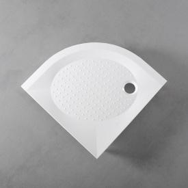 Душевой поддон Fancy Marble полукруглый 800x800 мм R 550