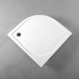 Душовий піддон Fancy Marble напівкруглий 1000х1000 мм R 550