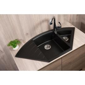 Кухонная мойка Fancy Marble Europe 113060004 светло-черный