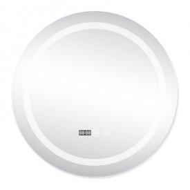Зеркало с подсветкой и антизапотеванием Q-tap Mideya LED DC-F803 600х600