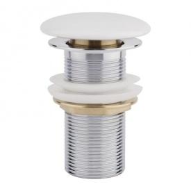 Донный клапан Q-tap F008 WHI Pop-up без перелива