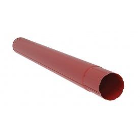 Труба з`єднувальна Aqueduct Преміум 87 мм 1 м темно-червона