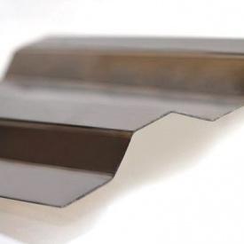 Профилированный поликарбонат Borrex 6x1,05 м бронза