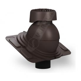 Фановый выход Wirplast Uniwersal K86 110х265 мм коричневый RAL 8019