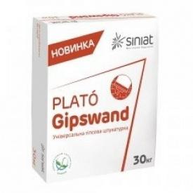 Шпаклевка гипсовая универсальная Plato Gipswand 30 кг