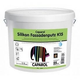 Штукактурка Caparol Fassedenputz K15 TRANSP 25 кг камінцева силоксановая