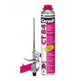 Ceresit СТ 84 Expres Пена клей для пенопласта 850 мл
