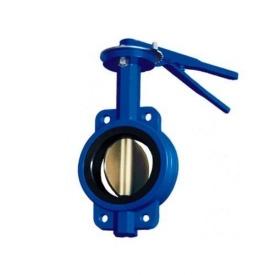 Затвор дисковий чавунний Баттерфляй ДУ 125 РУ 10