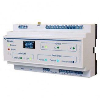 Контролер web-доступу для управління MODBUS-обладнанням ЕМ-486
