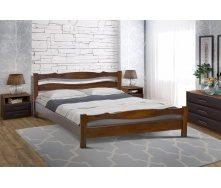 Дерев`яне ліжко Венера Мікс-Укр 900х2000 мм каштан