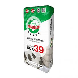 Клей для пенопласта Anserglob BCX 39 25 кг