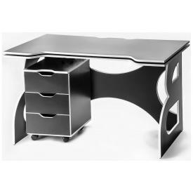 Стол с мобильной тумбой Barsky Game HG-06/CUP-06
