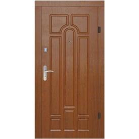 Двері броньовані Новобуд 860x2050 ПВХ-90 Б-11