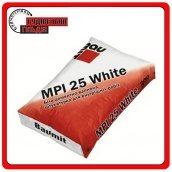 Baumit MPI-25 White белая цементно-известковая штукатурная смесь для внутренних работ 25кг
