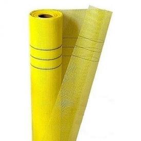 Сетка фасадная стеклотканная желтая 145 г/м2 1м*50 5x5
