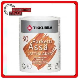 Акрилатный полуглянцевый лак для паркетных и дощатых полов Parketti Assa 1 л