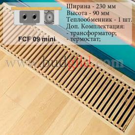 Внутрипольный конвектор FCF 09 mini 12v 1000 мм