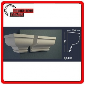 Подоконник для фасада FASTROCK ПД-010 2 метра