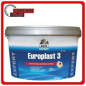 Износостойкая латексная краска Europlast 3 DE103 2,5 л